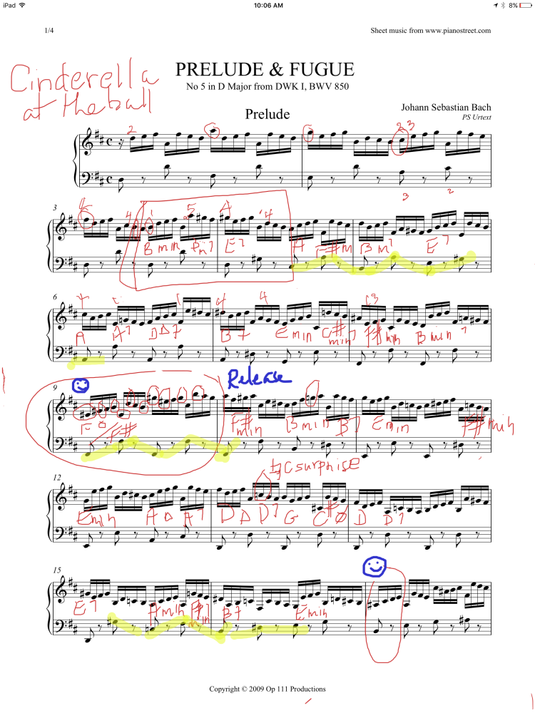 My Bach 48one A Week 1 All About Learning